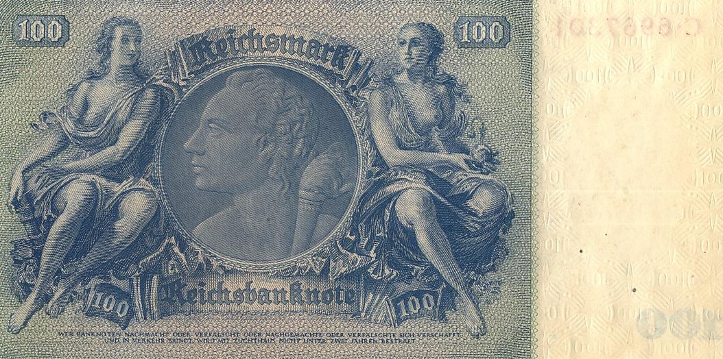 5 марок 1944 германия гитлер танк серебро