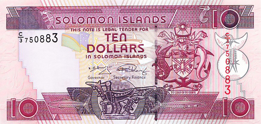 Solomon Islands Banknote 10 dollars 2006