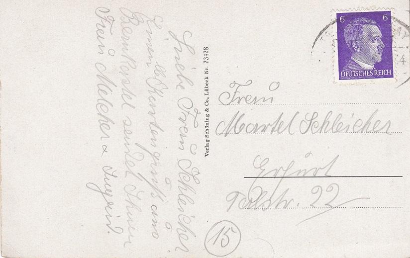 Как отправить открытку в германию по почте